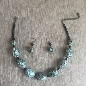 Vintage Yousi necklace & earrings